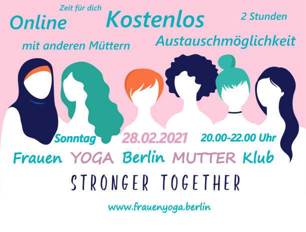 Frauen YOGA Berlin online MUTTER Klub